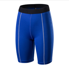 Großhandel lauf compression shorts Hohe qualität quick dry lauf shorts Halbe <span class=keywords><strong>länge</strong></span> leggings Schwarz aktive tragen