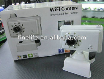Wifi Camera For Iphone Ipad Android Best Partner Wireless Baby Monitor -  Buy Baby Monitor,Wireless Baby Monitor,Wifi Camera Product on Alibaba com