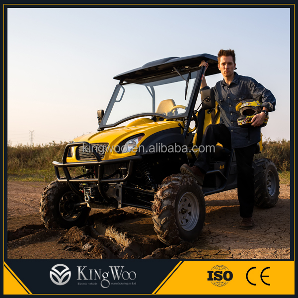 Durable 600cc 4x4 golf cart dune buggy for sale