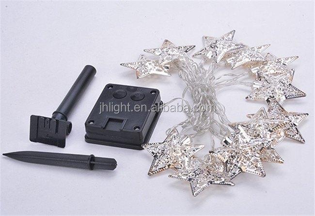 20 Star Led String Fairy Lights Christmas Xmas Party Decoration ...