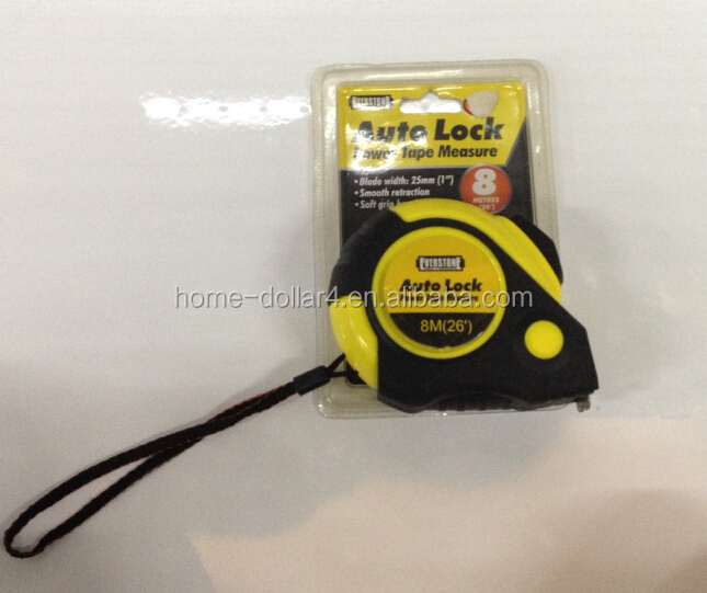 8M AUTO LOCK POWER TAPE MEASURE