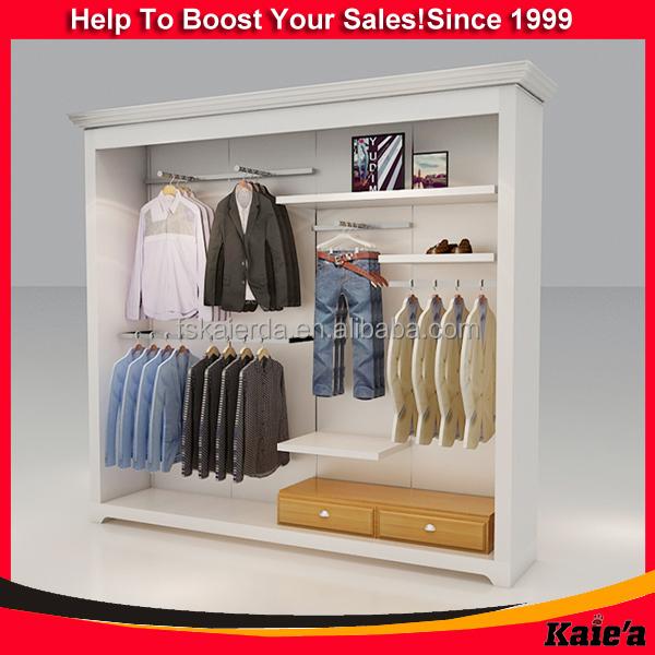 Retail Shop Furniture Garment Display Wall Racks