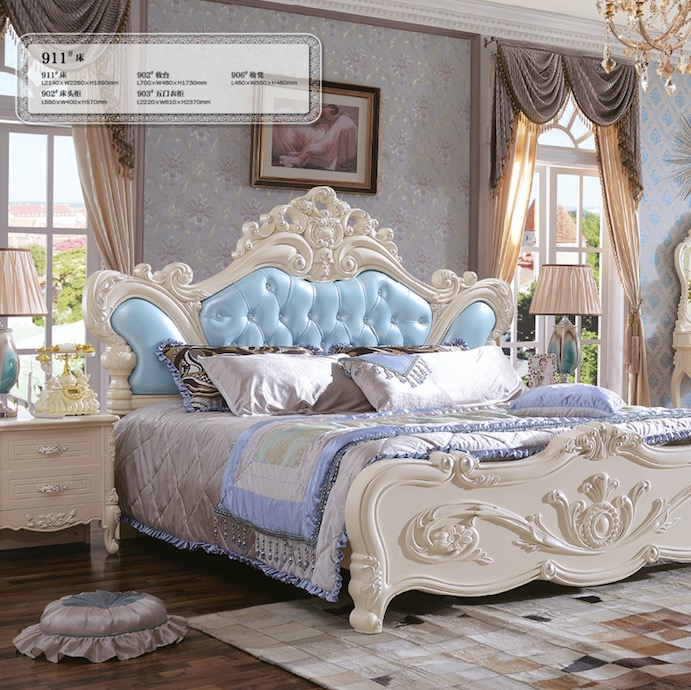 Quality bedroom furniture/luxury room furniture set