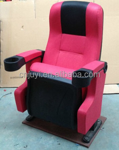 JY-626 Modern good push back CINEMA CHAIRS Folding theater chairs for Conference Auditorium Seating