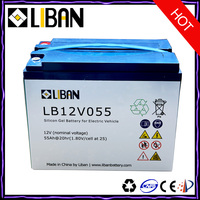 12 Volt Cheap Rechargeable Deep Cycle Flooded Lead Acid Battery