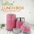 Sealed stainless steel thermos food jar insulated lunch box /Food warmer lunch box with spoon