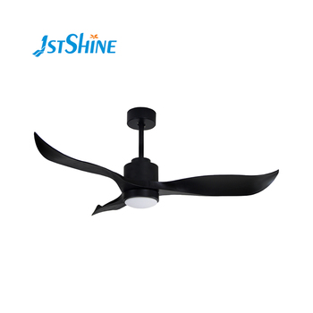 Modern series DC motor ceiling fans home appliances electric domestic ceiling fan with light