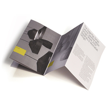 Fisarmonica fold <span class=keywords><strong>brochure</strong></span> unico opuscolo di stampa di carta