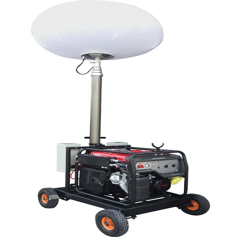 balloon light tower portable diesel generator tower light