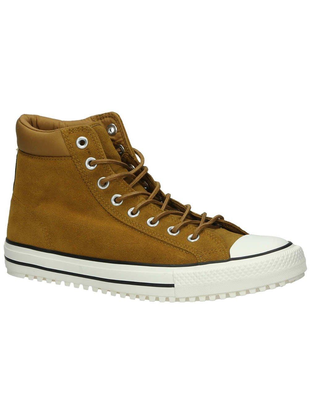 cac6604377 Converse Chuck Taylor All Star Converse PC Boot Hi Antiqued Egret Black  Men s Shoes