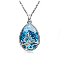 Personal custom crystal pendant