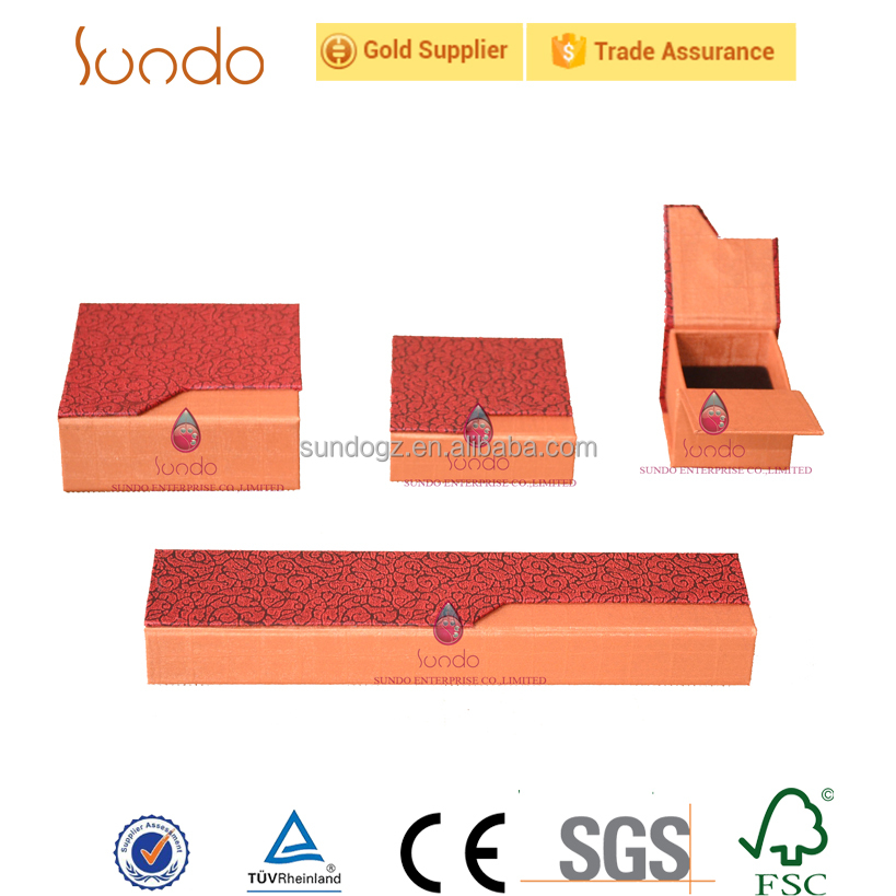 OEM paper box packaging jewelry box set