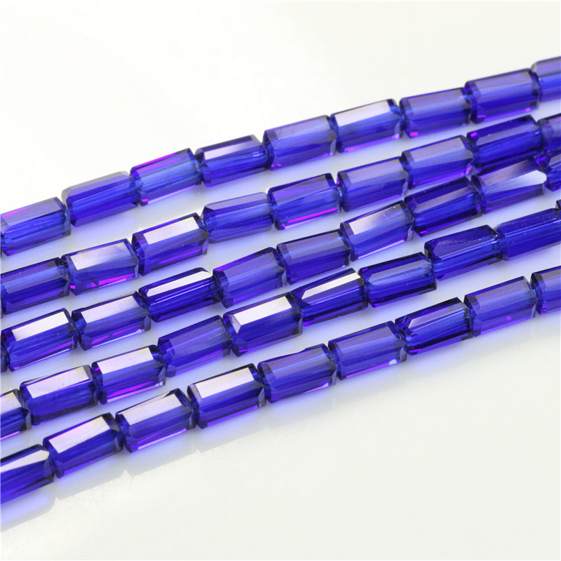3*6MM Modern Rectangular Beige Crystal Glass Beads Cut Surface Glass Beads 80pcs/lot DIY Jewelry Beads Fit Clothin Shoe Tattoo