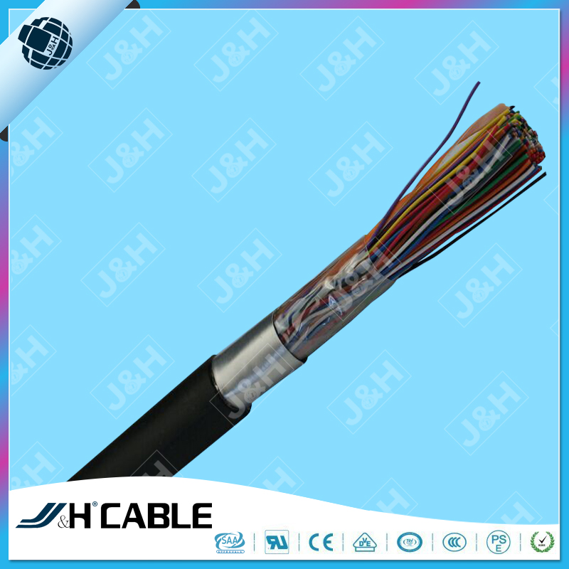 100 pair telephone cable outdoor underground communication cable