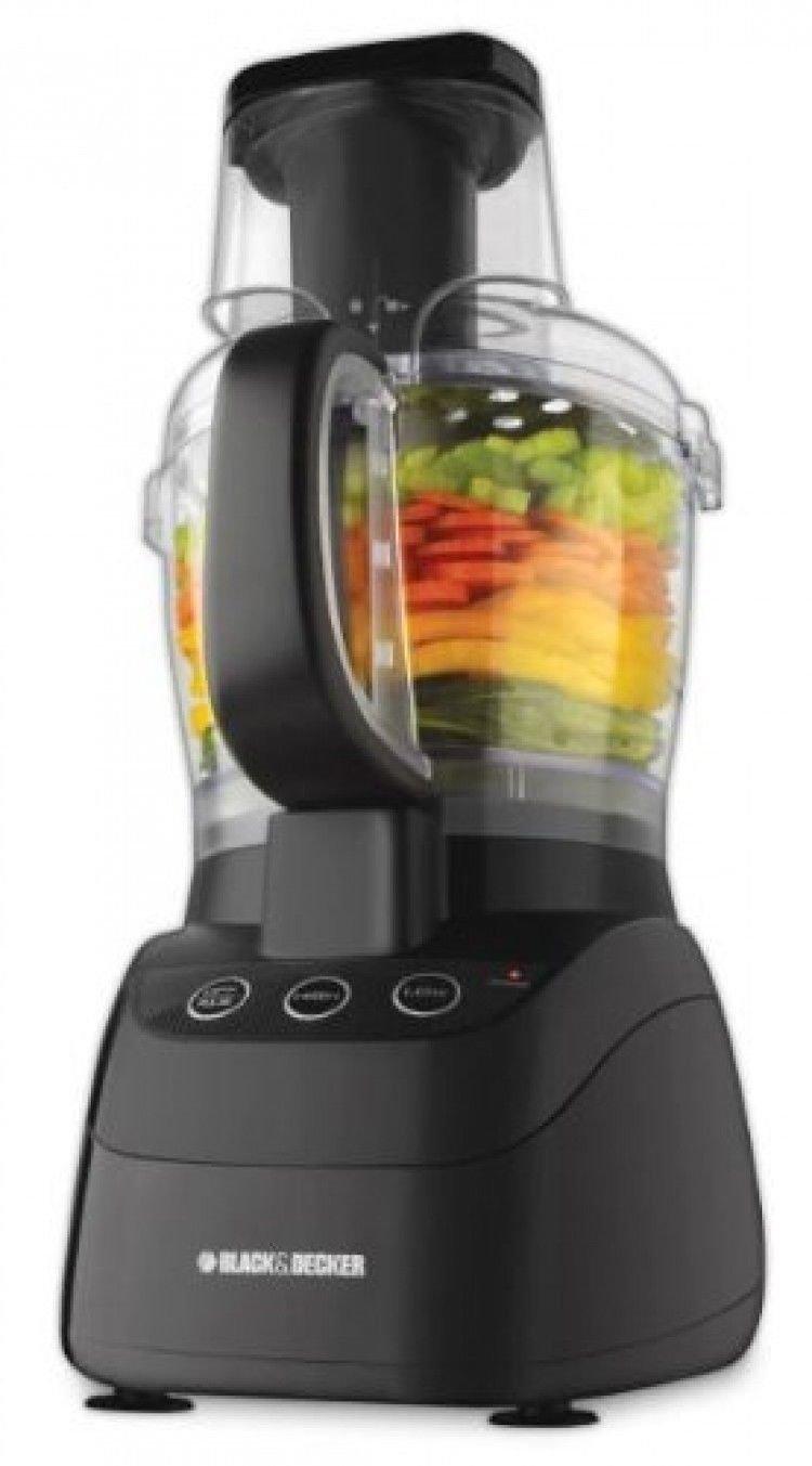 Black & Decker Fp2500b Powerpro Widemouth 10cup Food Processor; Black; New