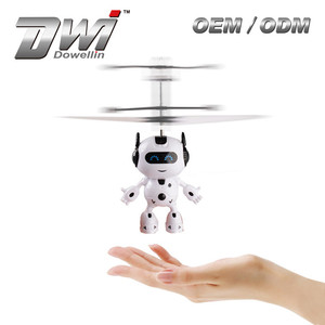DWI Infrared Sensor Flying Robot Helicopter Flying Toy Plane for Child
