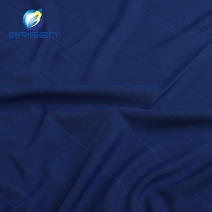 Much Spandex Dark Blue Sheer Pad Nylon Fabrics