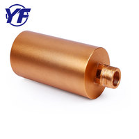 customized high quality lamp fitting and bushing brass lighting spare part
