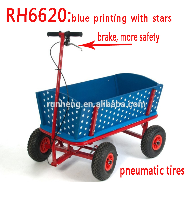 variety styles safety wooden wagon for kids