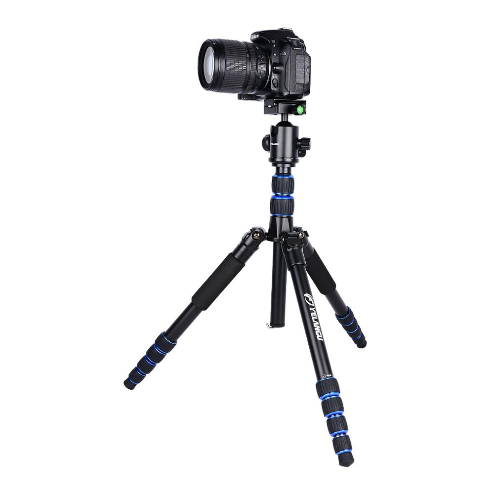 YELANGU Portable Travel Aluminum Alloy Monopod for DSLR cameras and Digital Photography