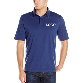 Summer High Quality soft short cotton customized embroidery polo shirt printing polo t-shirt men