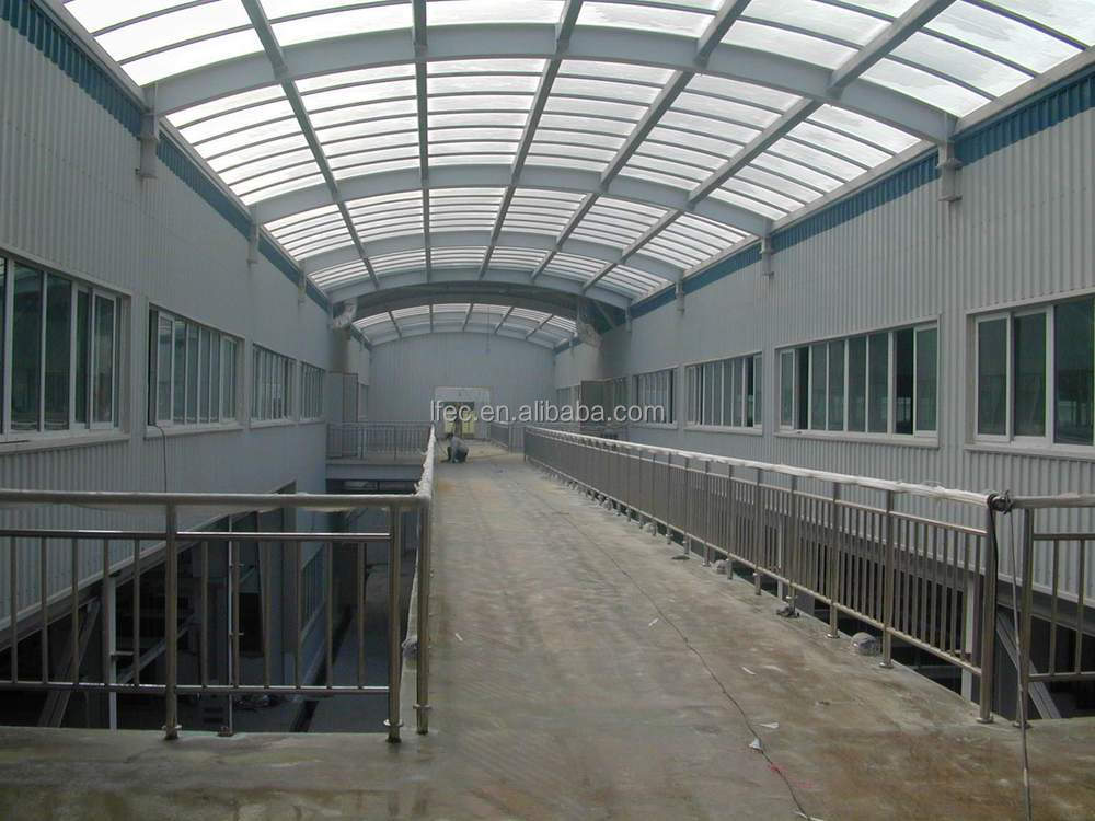Hot dip galvanized steel structure warehouse for factory