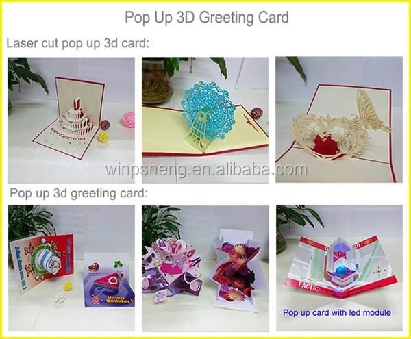 Laser cut 3d pop up birthday cardkirigami 3d pop card buy laser cut 3d pop up birthday cardkirigami 3d pop card m4hsunfo