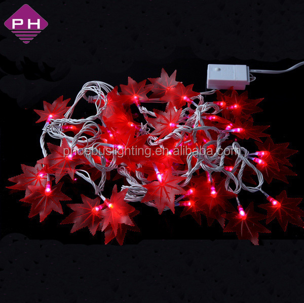 led maple leaf light