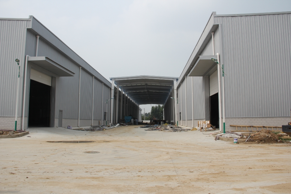 prefabricated rice warehouse