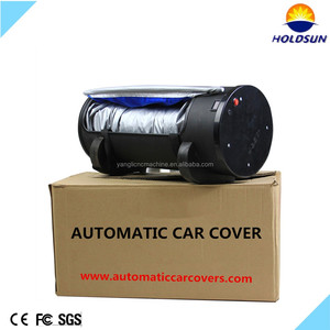 The frost guard automatic roller car cover car sun shade for sell