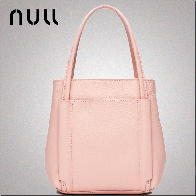 Guangzhou luxury branded comfortable ladies top layer cow leather bags professional manufacturers fashion handbag 2016