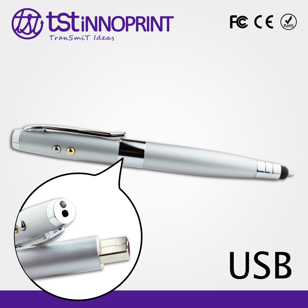 All Data Secure 5 in 1 Promotional Custom Metal Flash USB Pen