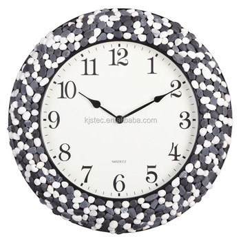 high quality lower price hot sale hand crafts silent sweep quartz wall clock