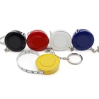 Custom Mini Colorful Keychain Soft Tape Measure With Logo