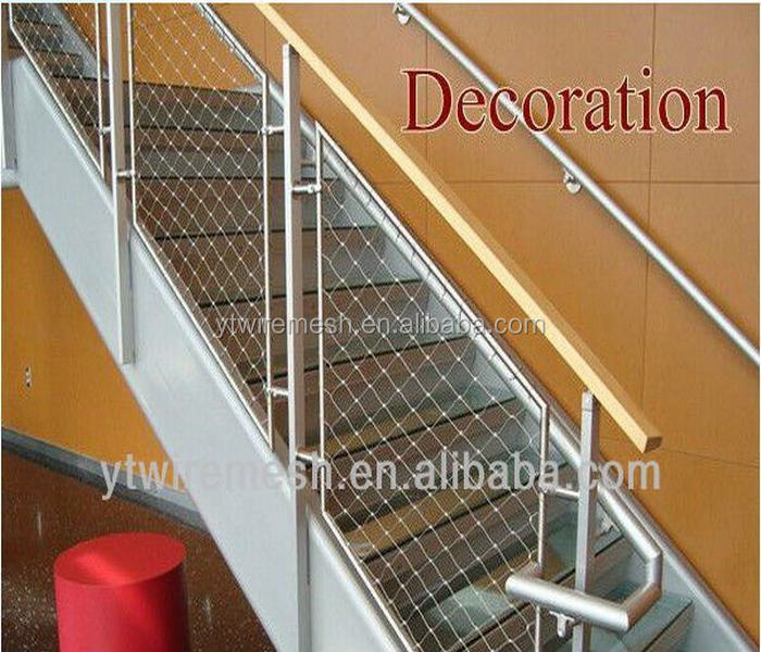 Attractive Stair Railing Netting