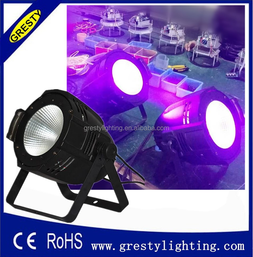 COB led par light 200w rgbwa uv/rgbw/cool/warm white led par 64