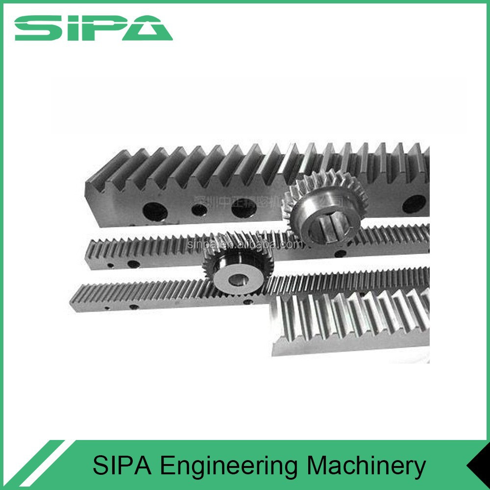 Stainless steel spur rack pinion linear motion