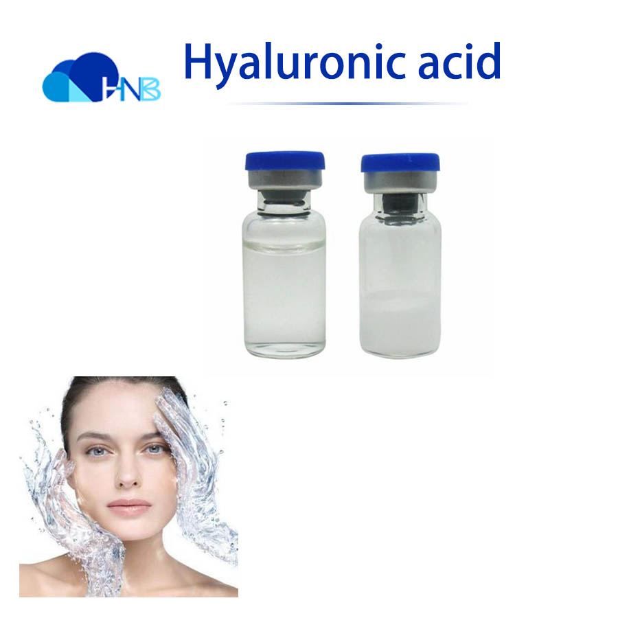 GMP Factory Supply Cosmetic Grade Hyaluronic Acid injection, CAS No.:9004-61-9