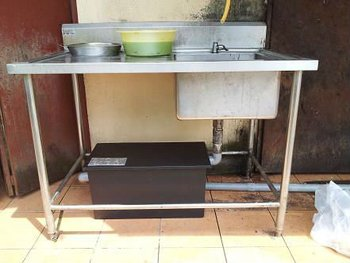 Kitchen Sink Grease Trap Grease trap and sink set rm 950 buy kitchen grease trap product on grease trap and sink set rm 950 workwithnaturefo
