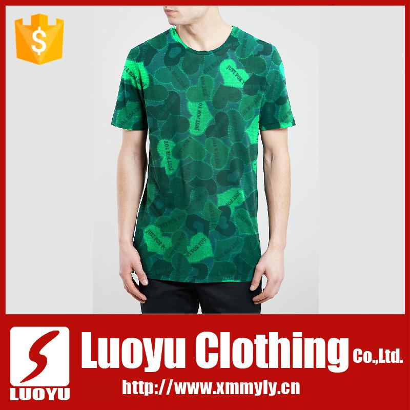 Sublimation Cut And Sew 3D T Shirts