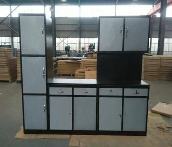 Profesional Rumah Furniture Tinggi Logam Pantry Lemari Dinding Dapur Kabinet Gantung