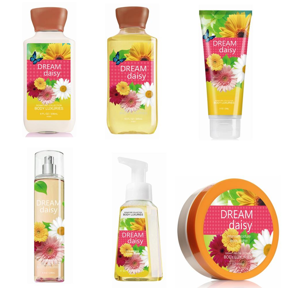 Original Dear Body Brand Dream Daisy Beauty Bath Lotion Cream Butter Spa Fragrance Perfume sets for Lady