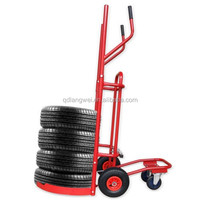 Hand truck tires with tires pushcart wheel dolly