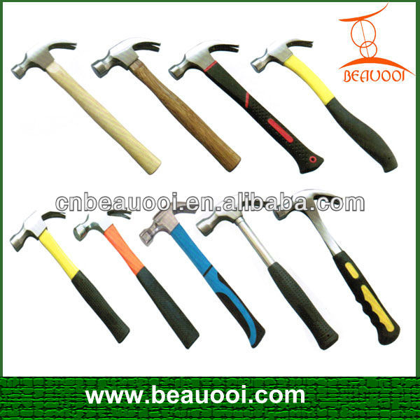 Professinal Quality Of Various Types New Claw Hammer,Safety Hammer ...