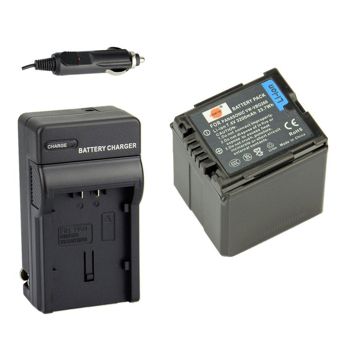 BATTERY 3150mAh FOR Panasonic HDC-SD700K HDC-SD9 HDC-SDT750 HDC-SDT750K