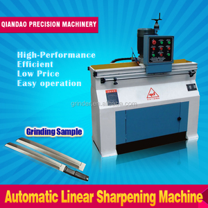 Linear straight Knife Sharpener GD-Z700 CE Certificate automatic blade cutter grinder machine