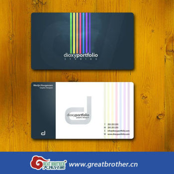 Full color print plastic business cards buy business cardspvc full color print plastic business cards reheart Image collections