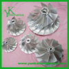 High precision customized water pump spare parts, stainless steel vacuum cleaner impeller