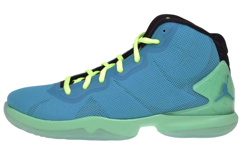 0824526b1ef2b Buy Jordan Kids Super.Fly 4 BG, BLUE LAGOON/BLUE LAGOON-GREEN GLOW ...