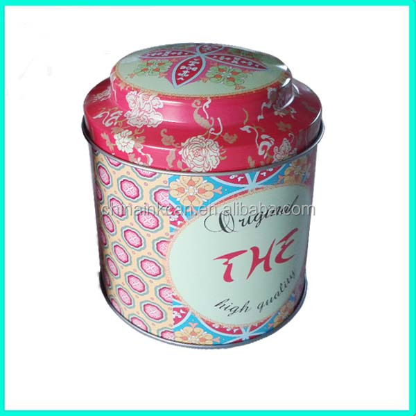 custom design tea tin canister manufacturers,Hot sale airtight tin tea box with food grade tinplate